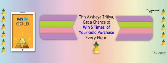 Paytm gold offer for paytm users
