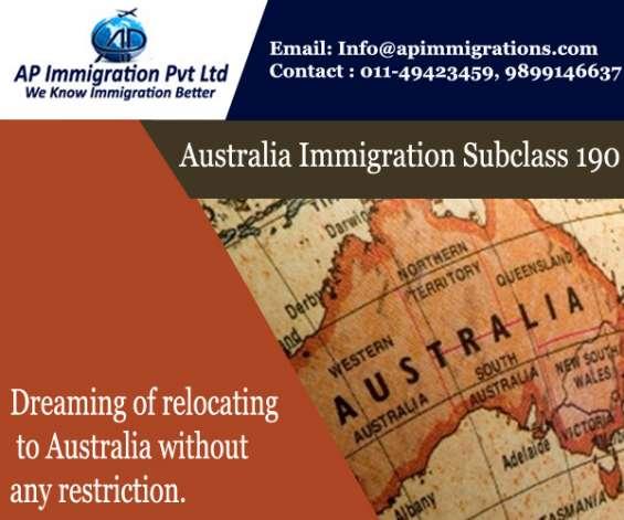 Skilled nominated visa australian immigration 190 ap immigration pvt ltd