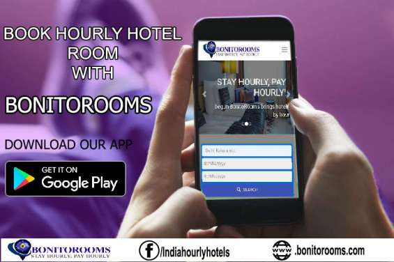 Hourly hotel #rooms available on #hourly basis in delhi. bonitorooms. download our app to book a room, now. 3hr, 6hr, 9hr, 12hr hotel room booking #book #hourly #rooms or #short #stay room.  visit: www.bonitorooms.com  one can always stay updated with the