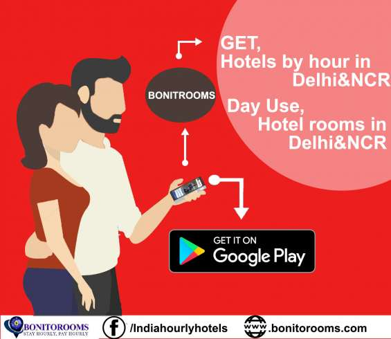 """""""now get hourly hotel bookings. pay only for the hours you stay.""""   visit: www.bonitorooms.com  one can always stay updated with the company information at: facebook: https://www.facebook.com/indiahourlyhotels/ twitter: https://twitter.com/bonitorooms goog"""