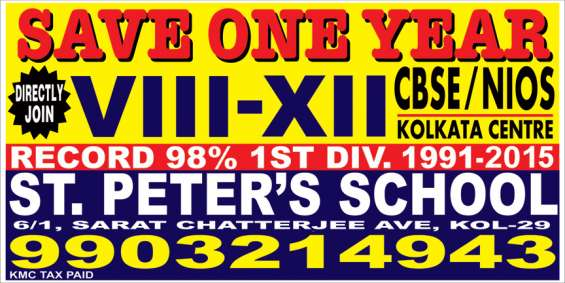 Admission open viii to xii