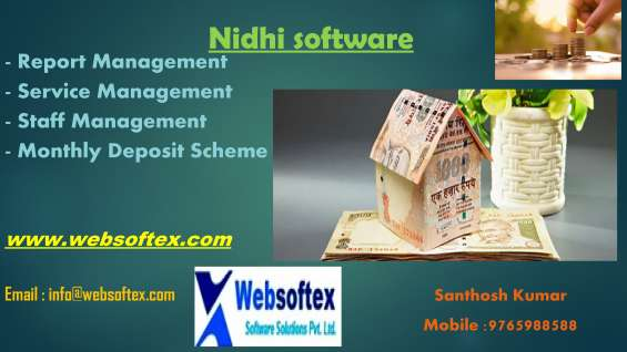 Pictures of Nidhi company banking software in bangalore 2
