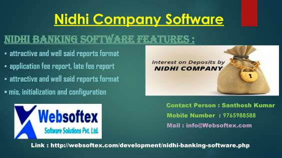 Pictures of Nidhi company banking software in bangalore 3