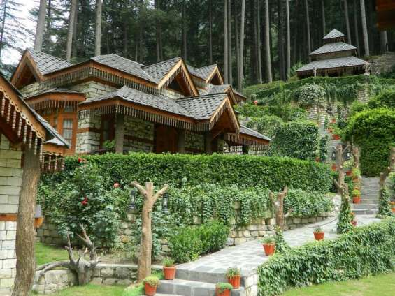 Best resorts in manali