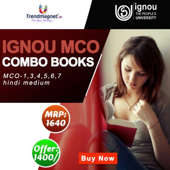 Ignou help books are not cumbersome to find