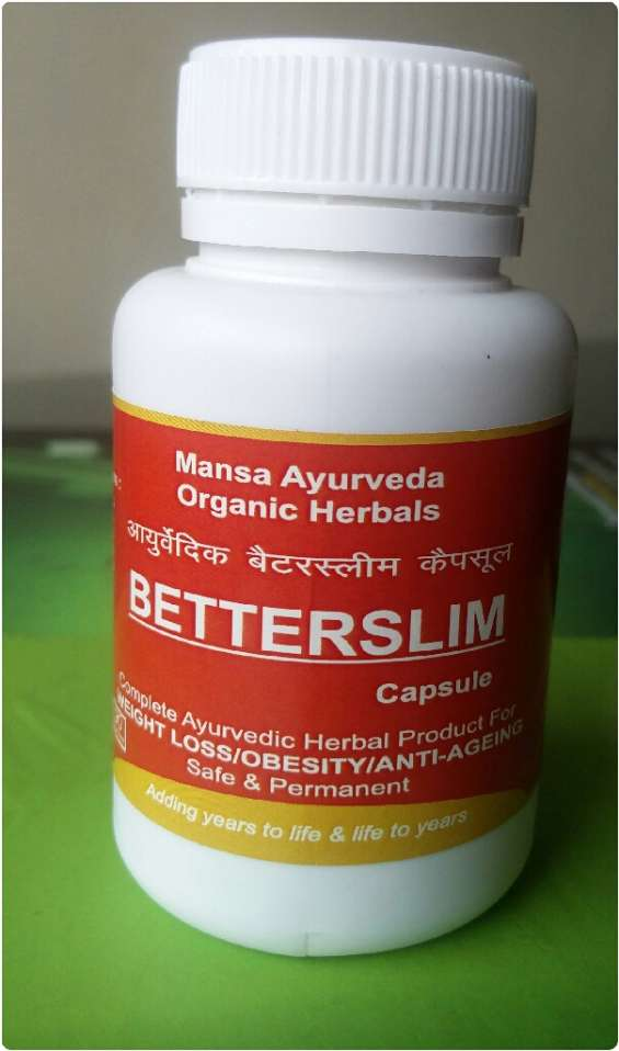 Better slim ayurvedic weight loss capsule improves the three doshas of a body by optimizing the vatta, pitta and kaff in the body.garcinia cambogia improves metabolisms of fat and helps weight loss. green tea is a known herb for improved brain alertness &