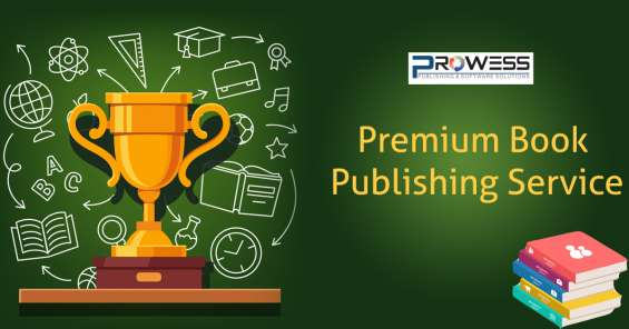 Premium book publishing service