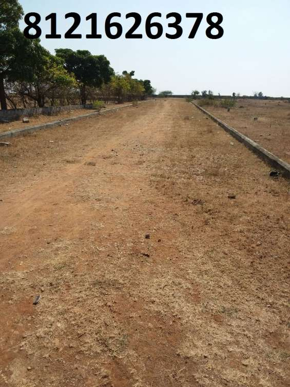 Dtcp approved residential plot at india,hyderabad,maheswaram
