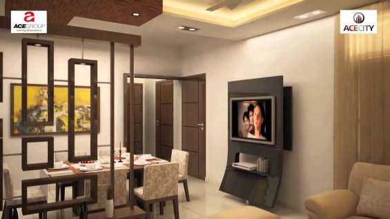 Exclusive 2 bhk apartment at ace city @ rs. 39.24 lac