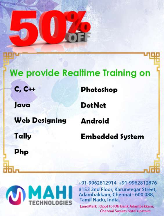 Best android training in chennai @ mahi technologies