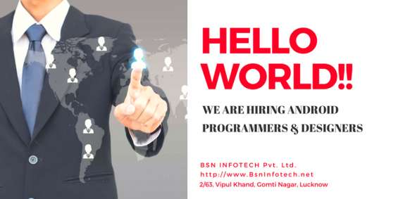 Opening for website designers | bsninfotech - website & software development company