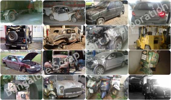 Pictures of Scrap dealer we buy used and junk cars in bangalore 2