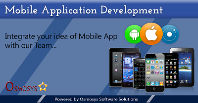 Best mobile application development services - osmosys
