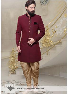 Toady discount offer wedding indo western sherwani online store
