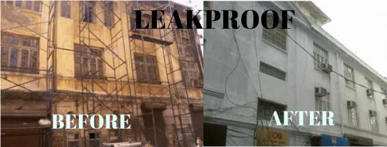 Building waterproofing services in mumbai & thane