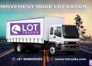 Book Mini Trucks For Rental in  Bangalore