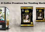 Coffee and Tea Premix for Flat 20% Discount