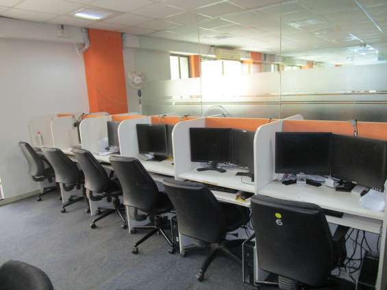 Furnished commercial office for rent / call center/ it/ bpo/kpo/mnc company all setup shar