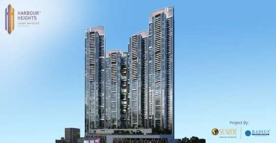 Harbour heights - 1, 2, 2.5, 3 and 4 bhk luxury flats for sale in mazgaon, mumbai