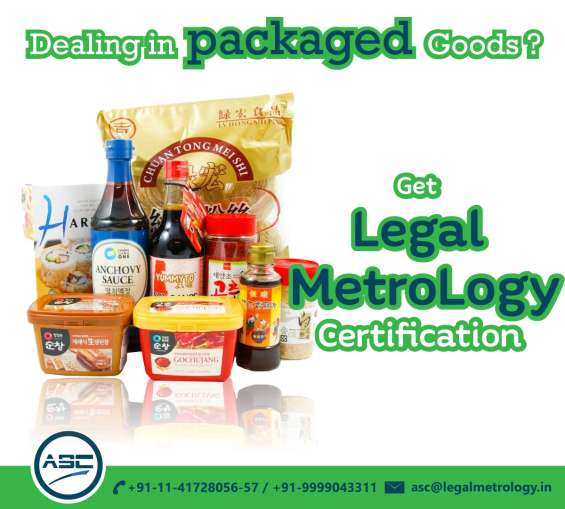 Compliance for packaging goods