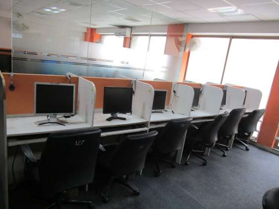 Office on rent # furnished 15 work station # rs 90000 rs /- # at ahmedabad # for it compan