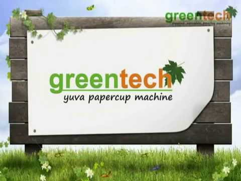 Paper cup making machine manufacturers in chennai, bangalore & mysore @greentech