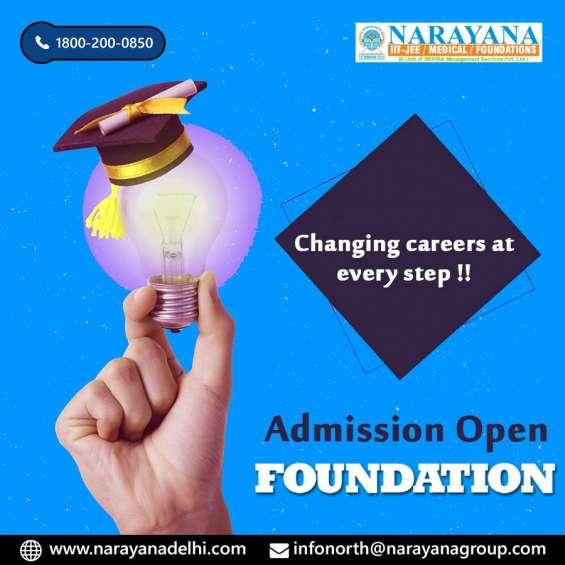 Narayana academy delhi admission open janakppuri