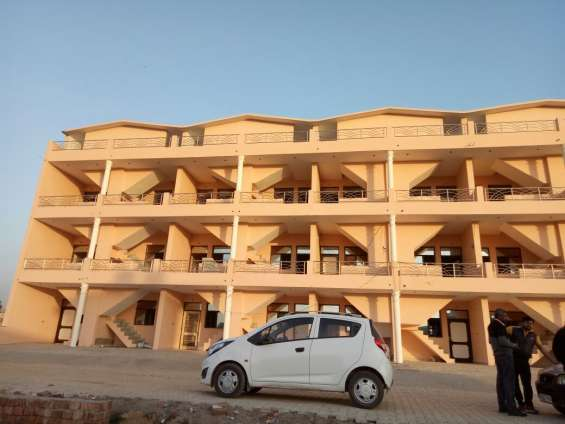 1 bhk fully furnished flat on ground floor near chandigarh