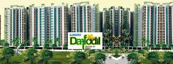 2/3bhk flats in noida @9266850850 ajnara daffodil sector 137