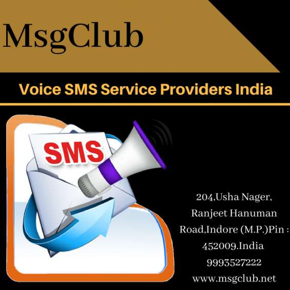 Voice sms service providers india