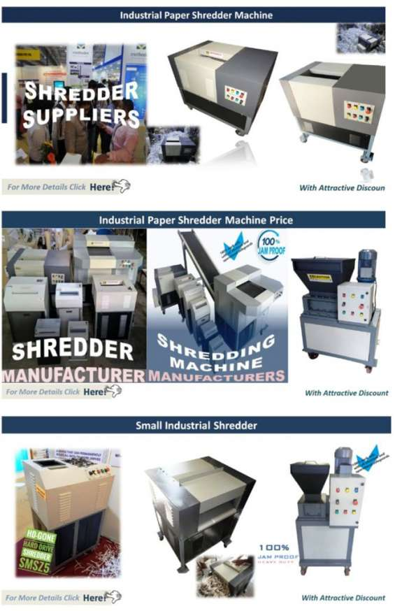 Industrial paper shredder machine | industrial paper shredder 98 20 020 714