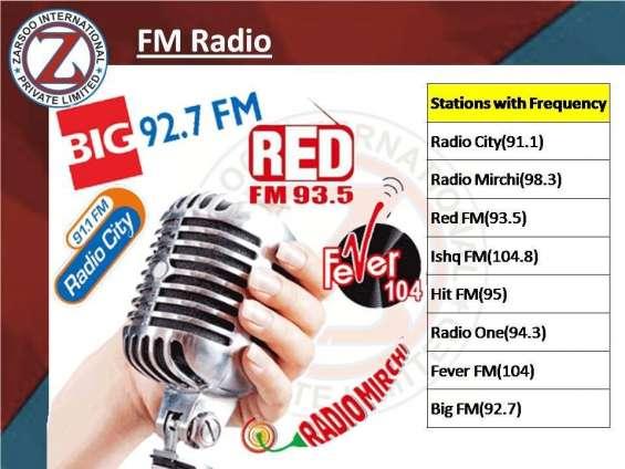 Fm radio advertisement agency in delhi