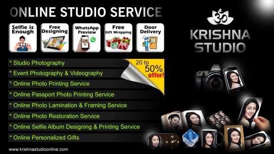Online studio services