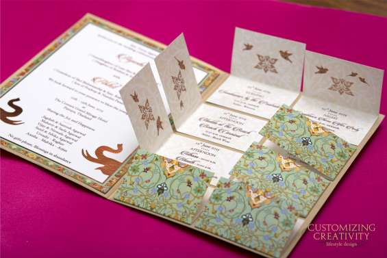 Customized wedding cards in mumbai