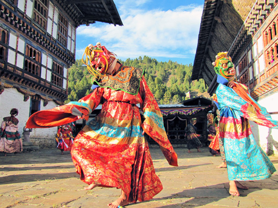 Bumthang chumey valley festival bhutan