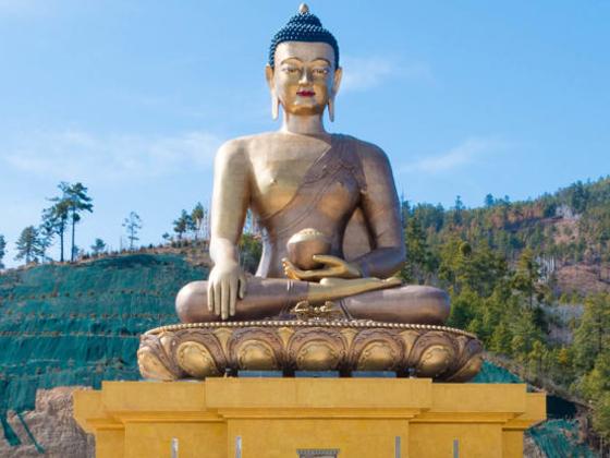 Buddha dordeme statue bhutan