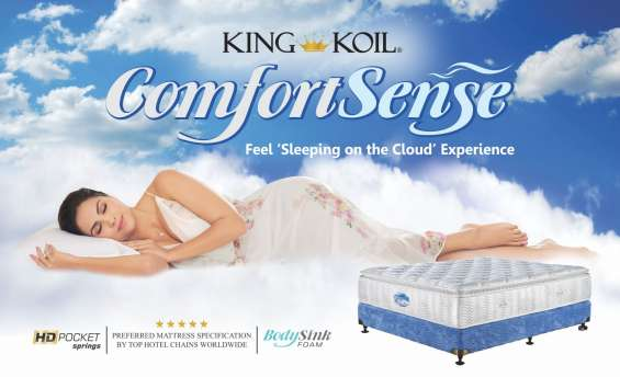 How to buy comfort sense mattress in india - kingkoil