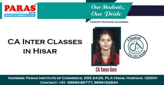 Ca inter classes in hisar | paras institute