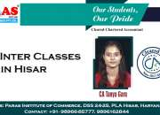 CA Inter Classes in Hisar | Paras Institute