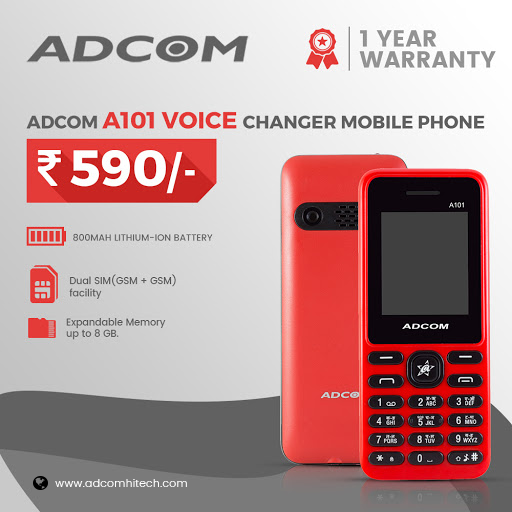 Adcom a101 voice changer mobile phone