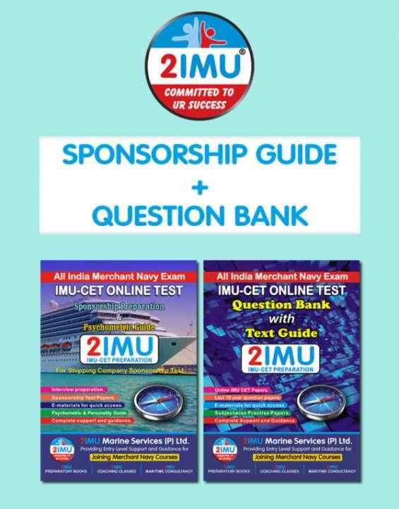 Imucet book | (sponsorship guide + question bank)