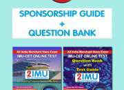 IMUCET Book | (SPONSORSHIP GUIDE + QUESTION BANK)