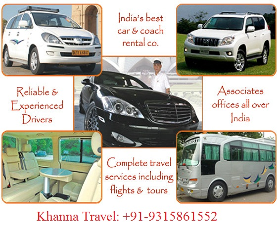 Khanna travel service | taxi, bus, cab service in delhi to outstation