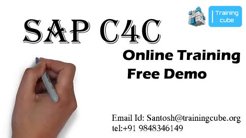Sap c4c online training