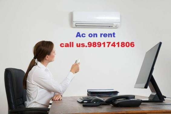Ac on rent in noida.