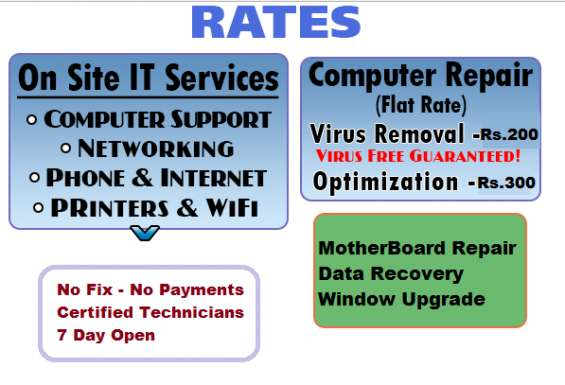 Pictures of No.1 doorstep computer repair company in delhi ncr only rs.250 10
