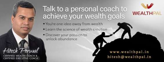 Wealth pal specializes in providing personalized coaching to corporate employees and businessmen. we help you choose an alternative career, one that compliments your passion, skill set and aptitude. come to think on it! to know more, call us