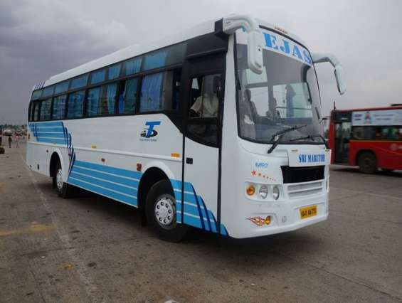 40 seater bus hire or rent for 37rs per km with driver in hoskote, bangalore