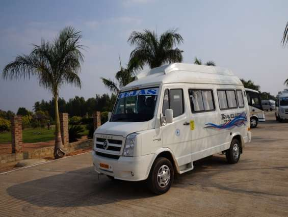 12 seater tempo traveller rent - book 12 seater tempo traveller