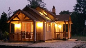 Woodbarn india log homes manufactureres